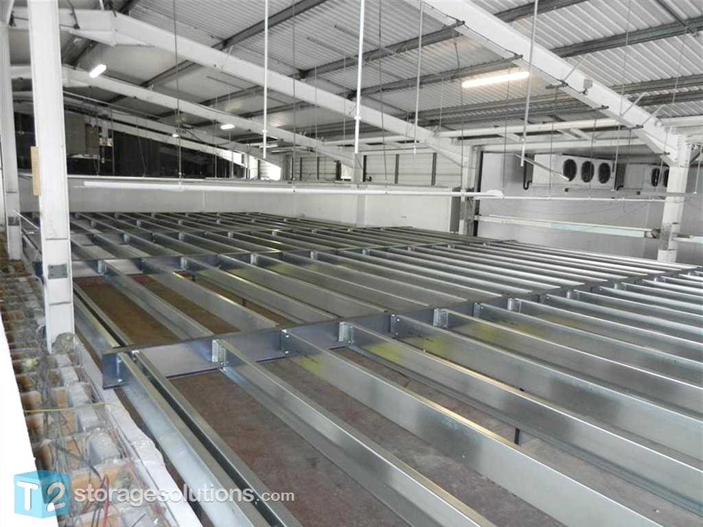 Nottingham Mezzanine Construction Build