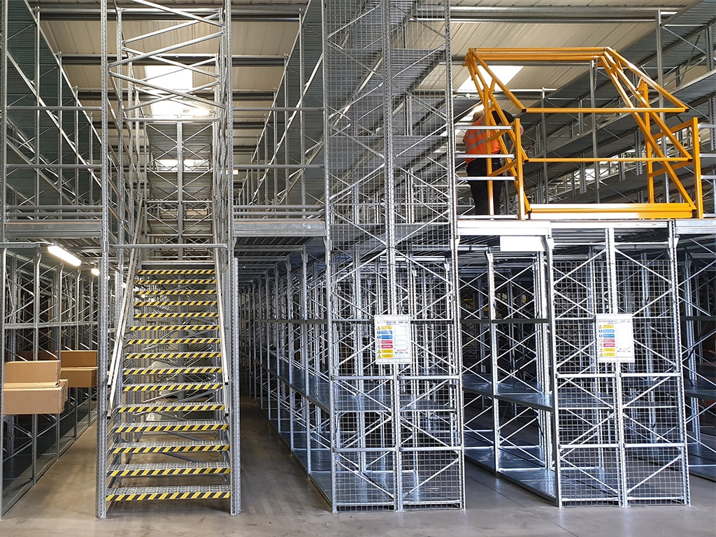 Two Tier Shelving Safety Gate